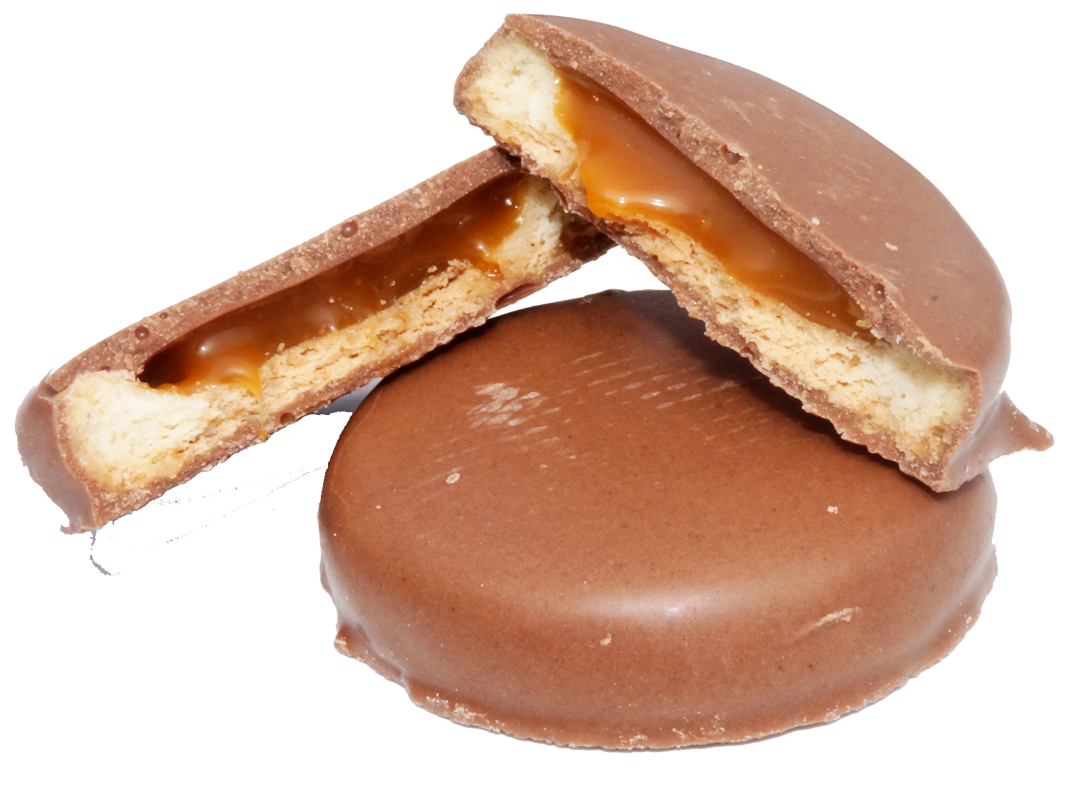 Biscuit With Caramel Fillt